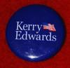 Kerry/Edwards campaign button