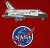 Space Shuttle Columbia & NASA refrigerator magnets