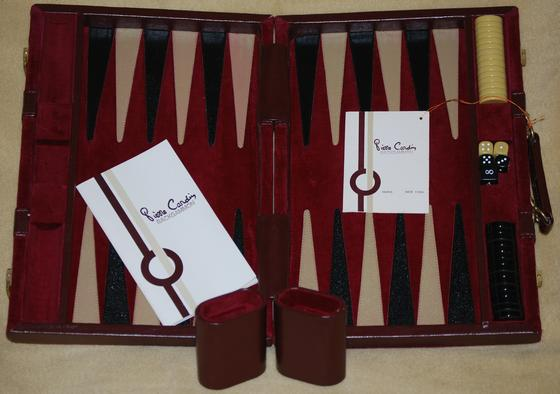 Pierre Cardin Backgammon Game
