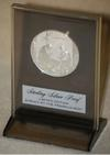 Sterling Silver Christmas Medallion